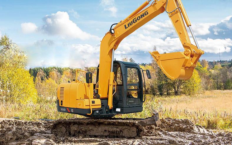 LiuGong North America - CLG908DII Excavators