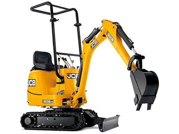 JCB - 8008 CTS Excavators