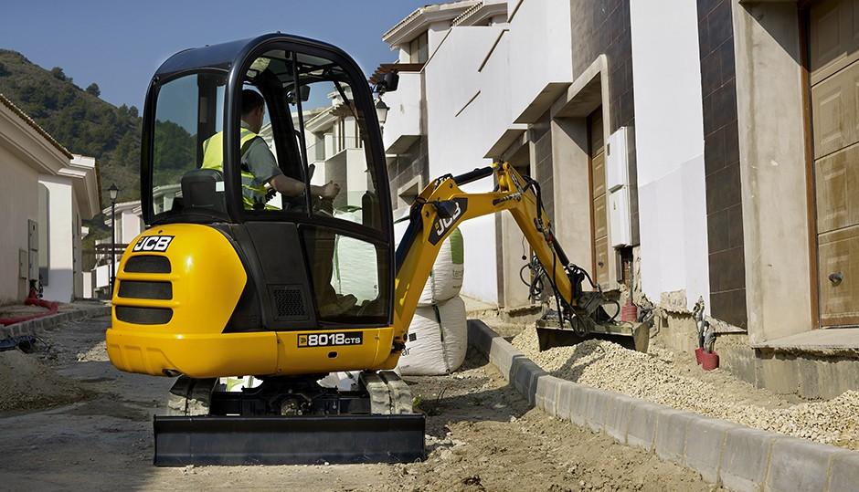 JCB - 8018 CTS Excavators