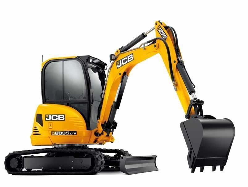 JCB - 8035 ZTS Excavators
