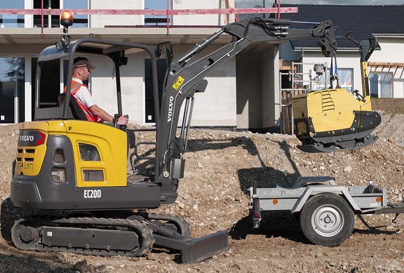 Volvo Construction Equipment - EC20D Excavators