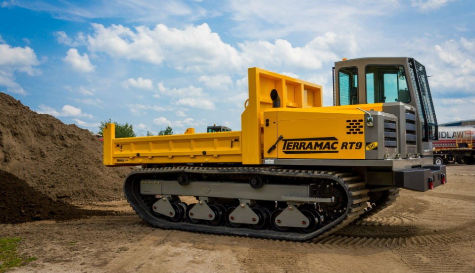 Eaton's DuraForce Pumps Power Terramac RT9 Rubber-Tracked Crawlers