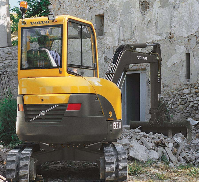 Volvo Construction Equipment - ECR38 Excavators