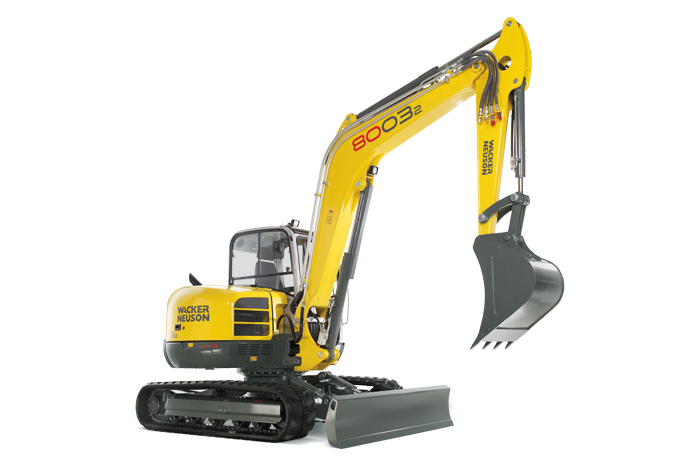 Wacker Neuson USA - 8003 Excavators