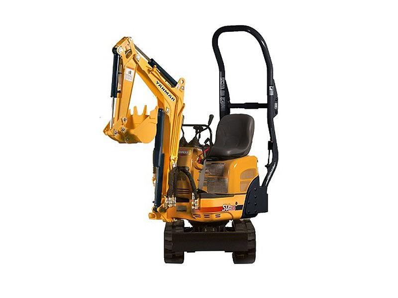 Yanmar Construction Equipment - SV08-1A Excavators