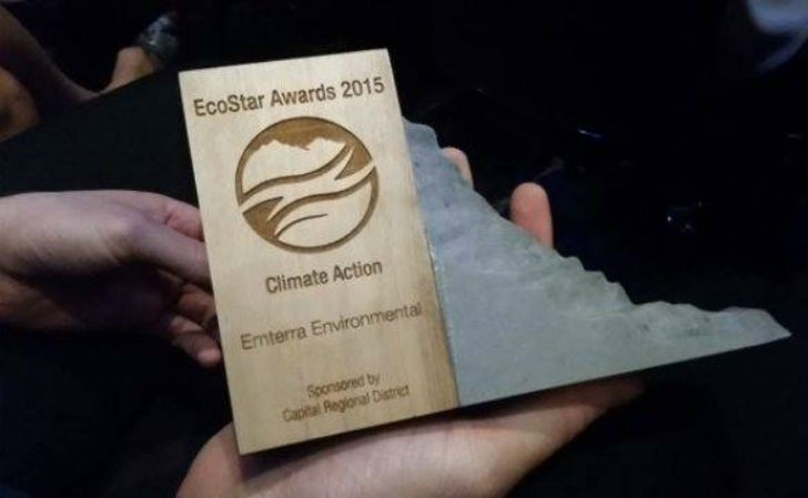 Emterra is honoured to receive the 2015 EcoStar Award in the Climate Action Category.