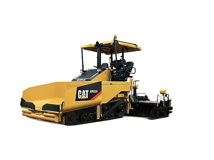 Caterpillar Inc. - AP655D Asphalt Pavers