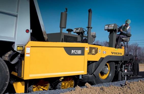 Volvo Construction Equipment - PF2181 Asphalt Pavers
