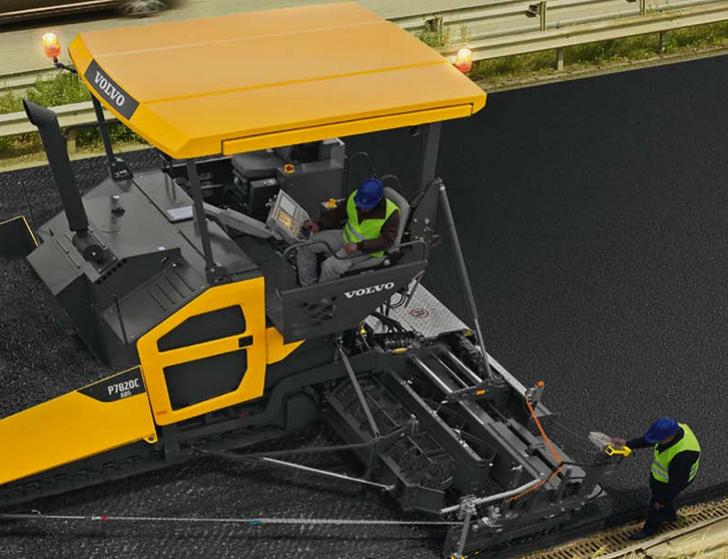 Volvo Construction Equipment - P7820C Asphalt Pavers