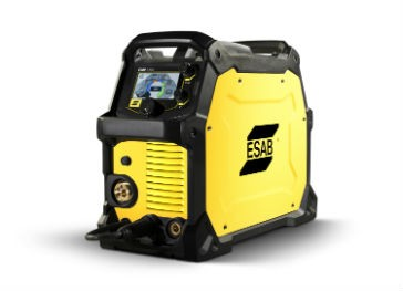 """The ESAB Rebel EMP 215ic features such innovative technology as sMIG (""""smart MIG"""") controls, multi-process arc performance that rivals industrial inverters and an advanced technology LCD/TFT display."""