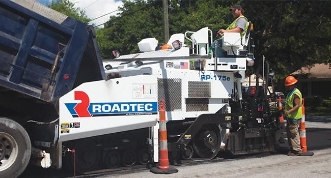 Roadtec - RP-175e Asphalt Pavers