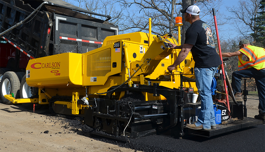 Carlson Paving Products, Inc. - CP100 Asphalt Pavers