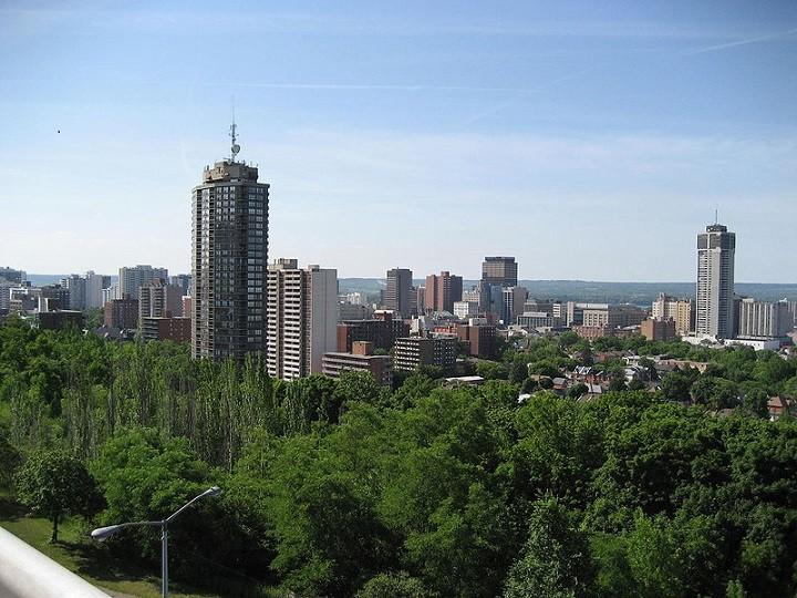 Hamilton skyline. Photo credit: Wikimedia Commons.