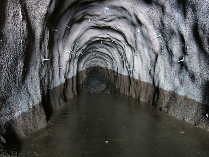 Cheves Hydropower Tunnel in Peru ended up breaking the ASI company record for the deepest flooded tunnel.