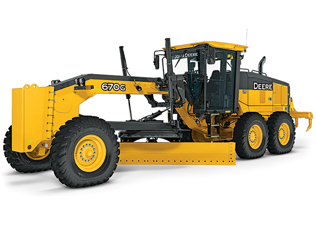 John Deere Construction & Forestry - 670G/GP Motor Graders