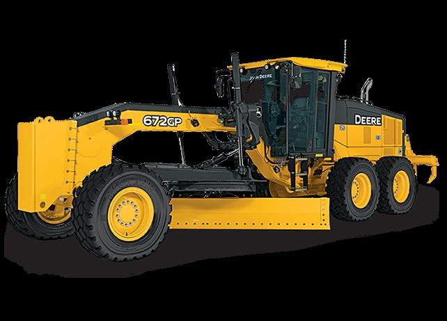 John Deere Construction & Forestry - 672G/GP Motor Graders