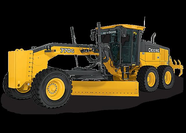 John Deere Construction & Forestry - 770G/GP Motor Graders