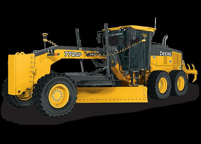 John Deere Construction & Forestry - 772G/GP Motor Graders