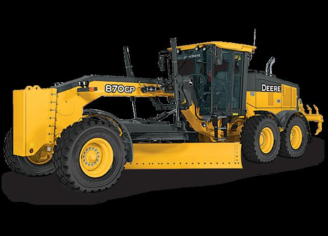 John Deere Construction & Forestry - 870G/GP Motor Graders