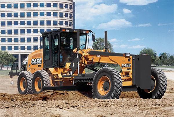 CASE Construction Equipment - 845B Motor Graders