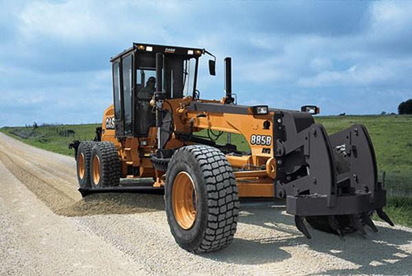 CASE Construction Equipment - 885B Motor Graders