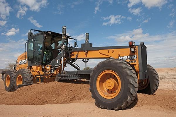 CASE Construction Equipment - 885B AWD Motor Graders