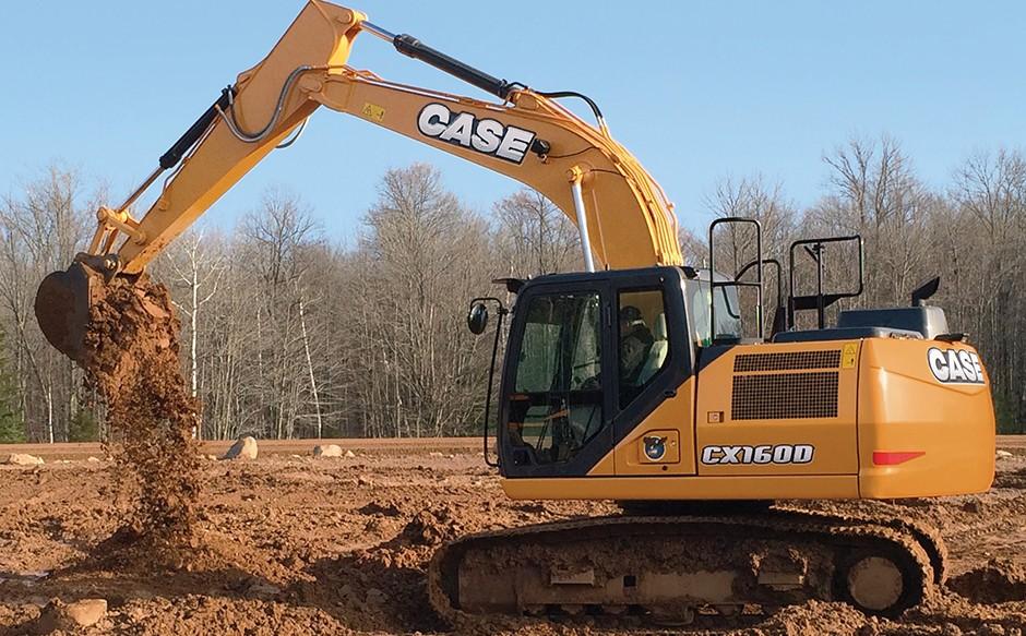 CX160D crawler excavator