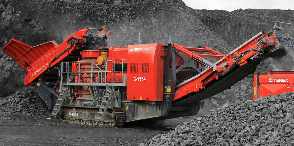 Terex Finlay - C-1554 Track Mounted Cone Crushers