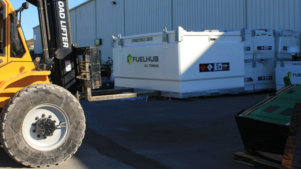 McCloskey Fuel Hub product line is secure and environmentally friendly.