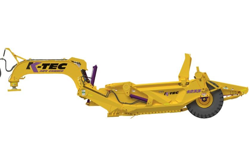 K-Tec Earthmovers Inc. - 1233 ADT Scrapers