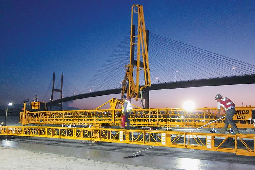 GOMACO - SL750 Work Bridges