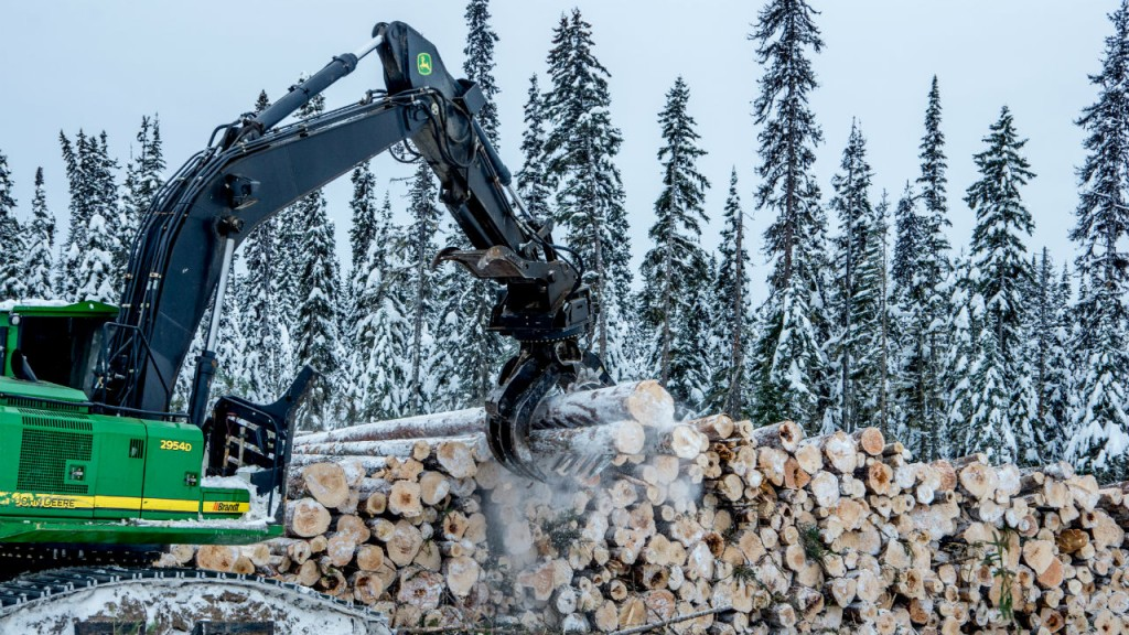 Rotobec Pulpwood attachment for extreme applications - Heavy