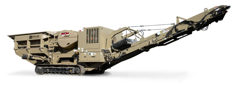 KPI-JCI and Astec Mobile Screens - GT125 Vanguard Track Mounted Jaw Crushers