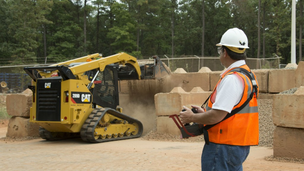 RemoteTask can be integrated into 16 models of Cat D Series Skid Steer, Multi Terrain and Compact Track Loaders.