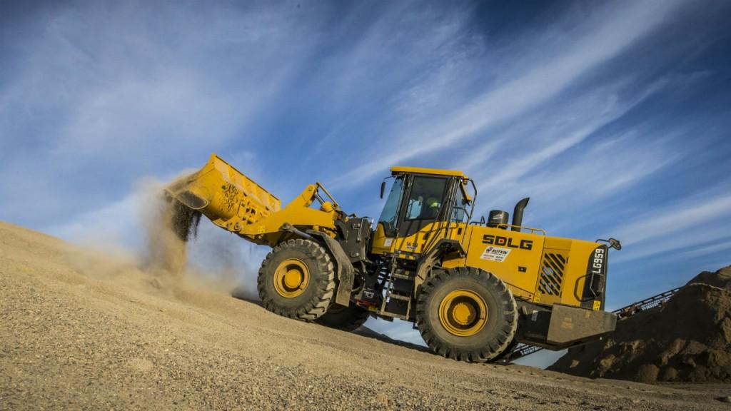 SDLG LG959 wheel loader.