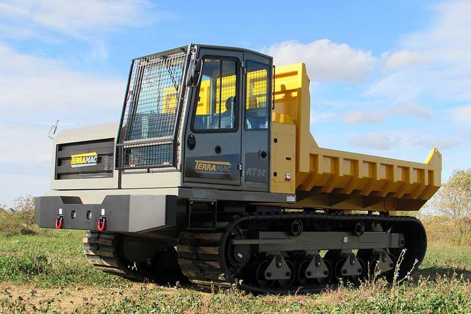 Terramac - RT14 Crawler Carriers