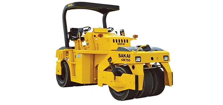 Sakai - GW750-2 Asphalt Pavers