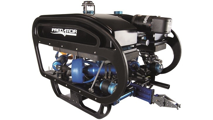 Seatronics is working with Inuktun to supply the Inuktun ROV Manipulator as a standardised option for the Seatronics Predator ROV Elite System.