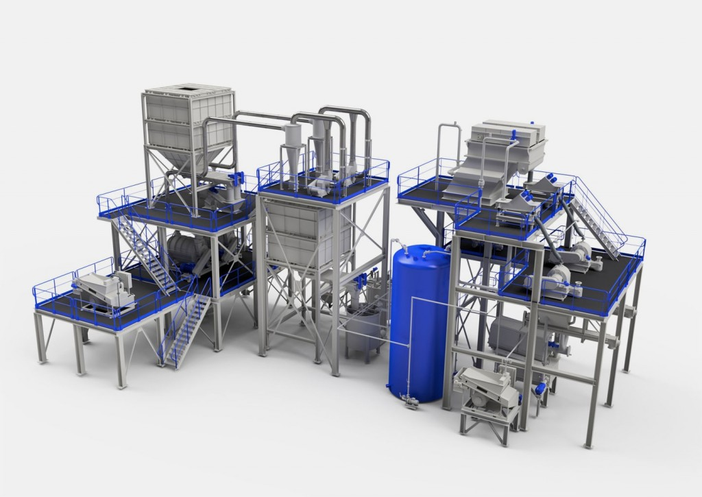 SICON America - Polyfloat®system Plastics Seperation