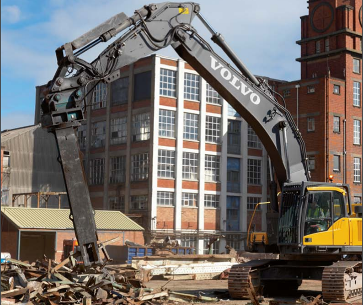 Volvo Construction Equipment - EC700CHR Excavators