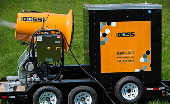 Dust Control Technology - OdorBoss G with Heat Dust Supression