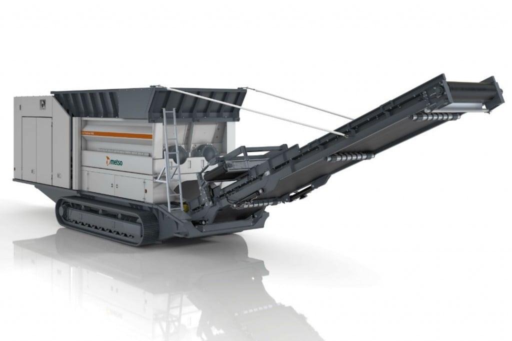 Metso Outotec - M&J PreShred 4000 crawler Shredders