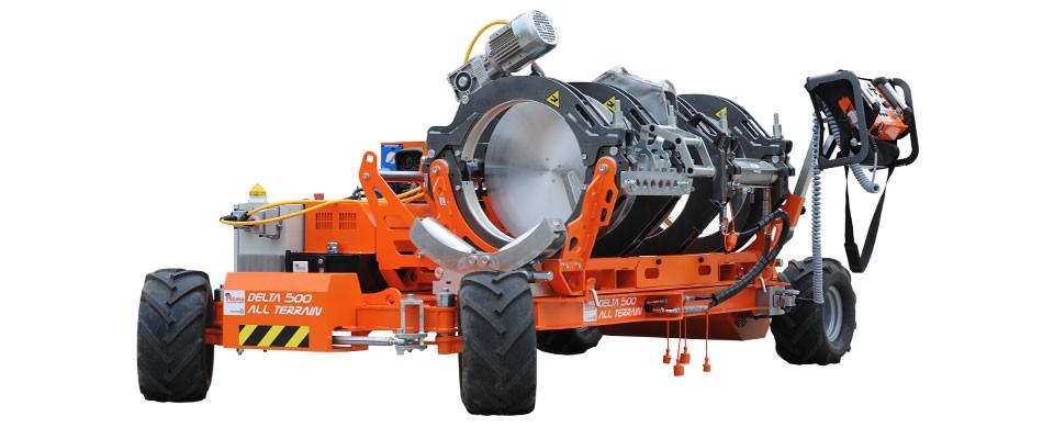 Ritmo America LLC - Delta 500 All Terrain Pipe Fusion Machines