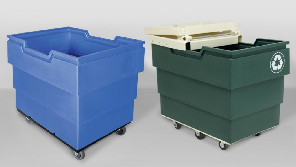 Royal Blue ranks as most popular color of 2015 based on total units purchased for the company's line of Poly-Trux(R) recycling carts, laundry carts and Ship Shape bulk containers.