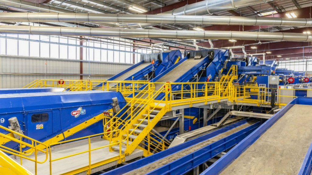 The Southern Nevada Recycling Center has been called the largest and smartest residential recycling center in North America by Republic Services.