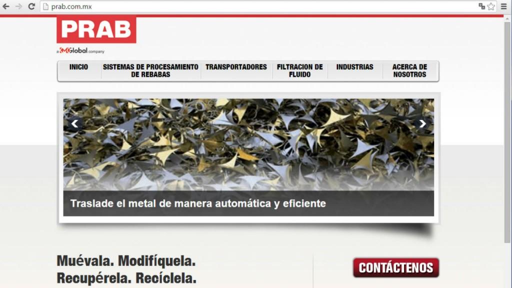 PRAB Spanish language website.