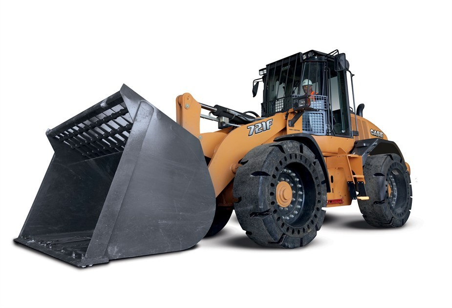CASE Construction Equipment - 721F WH Wheel Loaders