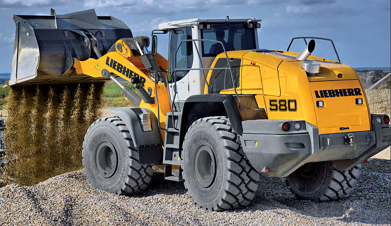 Liebherr Canada - L 580 Wheel Loaders