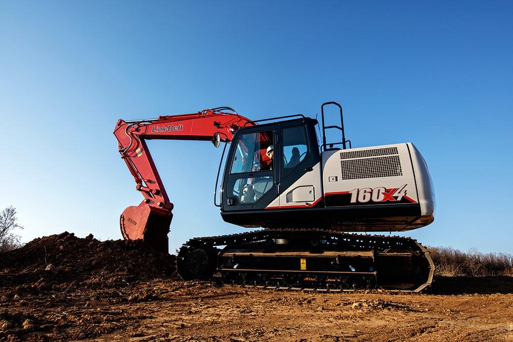 Link-Belt Construction Equipment Company - 160 X4 Excavators