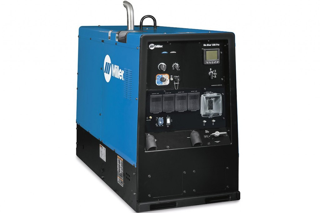 Miller Electric Mfg. LLC. - Big Blue 600 Pro Welding